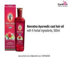 My hair care Navratna Hair Oil