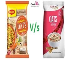 Maggi oats VS Patanjali oats