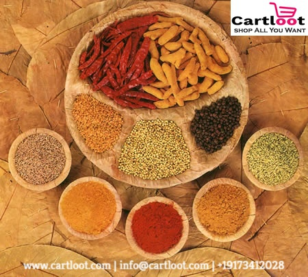 The tasty world of Indian Spices.