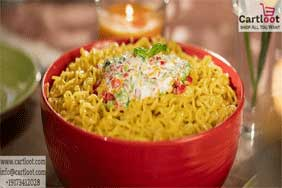Cheesy Italiano MAGGI Noodles Recipe