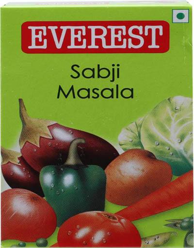 Everest Sabji Masala Powder  (50 g)