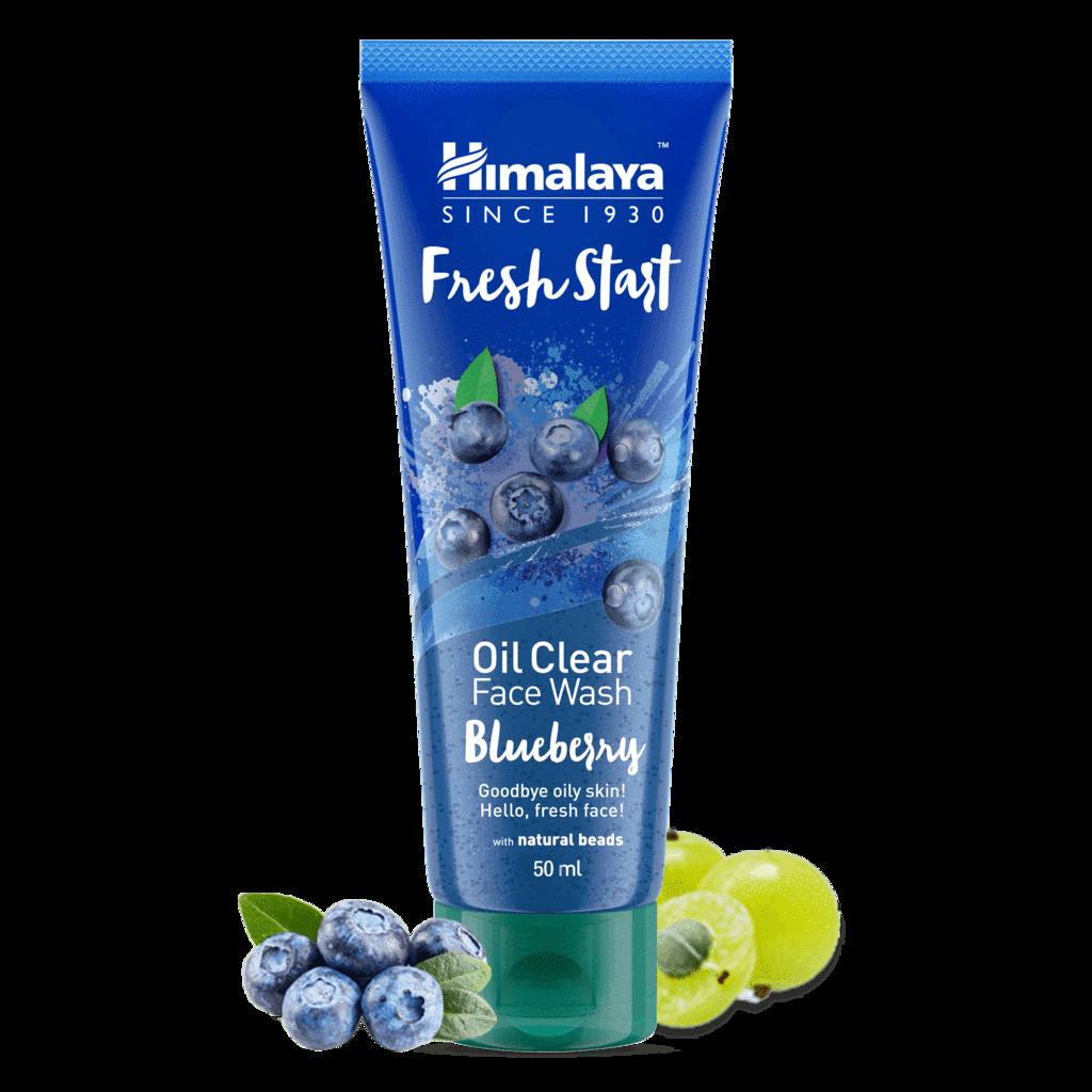 Himalaya Herbal Fresh Start Oil Clear Blueberry Face Wash-50 ml