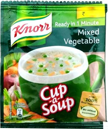 Knorr Mixed Vegetable Cup-a-Soup  (10 g)