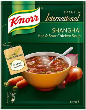 Knorr Shanghai Hot and Sour Chicken Soup  (38 g)