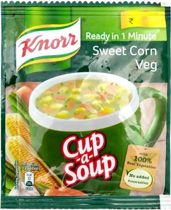 Knorr Sweet Corn Veg Cup-a-Soup  (10 g)
