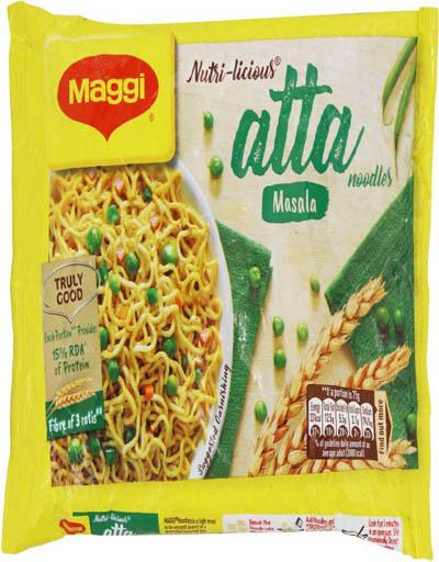 Maggi Nutri-licious Atta Masala Instant Noodles 75 g