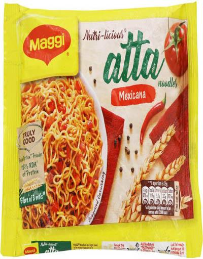 Maggi Nutri-licious Atta Mexicana Instant Noodles 75 g