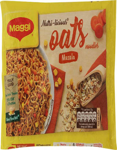 Maggi Nutri-licious Oats Masala Instant Noodles 75 g