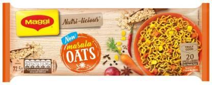 Maggi Nutri-licious Oats Masala Instant Noodles Vegetarian-290 g