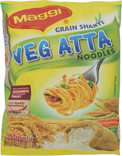 Maggi Veg Atta - Masala Instant Noodles 75 g