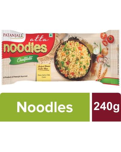 Patanjali Atta Noodles Chatpatta -Family Pack