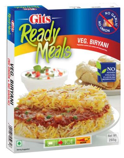 Veg Biryani (No Onion / No Garlic)