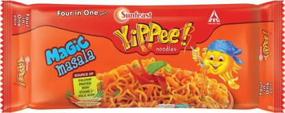 Yippee Magic Masala Instant Noodles Vegetarian-240 g