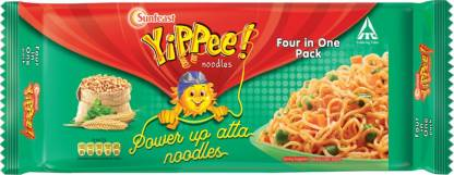 Yippee Power Up Masala Instant Noodles Vegetarian-280 g