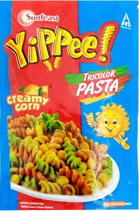 Yippee Tricolor Creamy Corn Pasta  (65 g)
